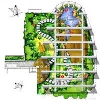 屋顶花园_园林景观图片