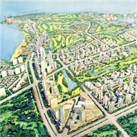 城市规划景观设计_园林景观图片