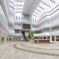 医院空间装修_室内设计图片