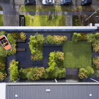 屋顶花园案例_园林景观图片
