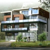 别墅建筑_建筑设计图片