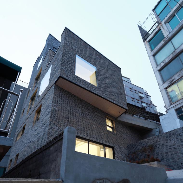 韩国岩石上水洞办公室_19