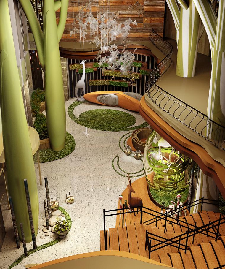111111111111111111111-绿野仙踪—童话森林主题酒店设计第1张图片