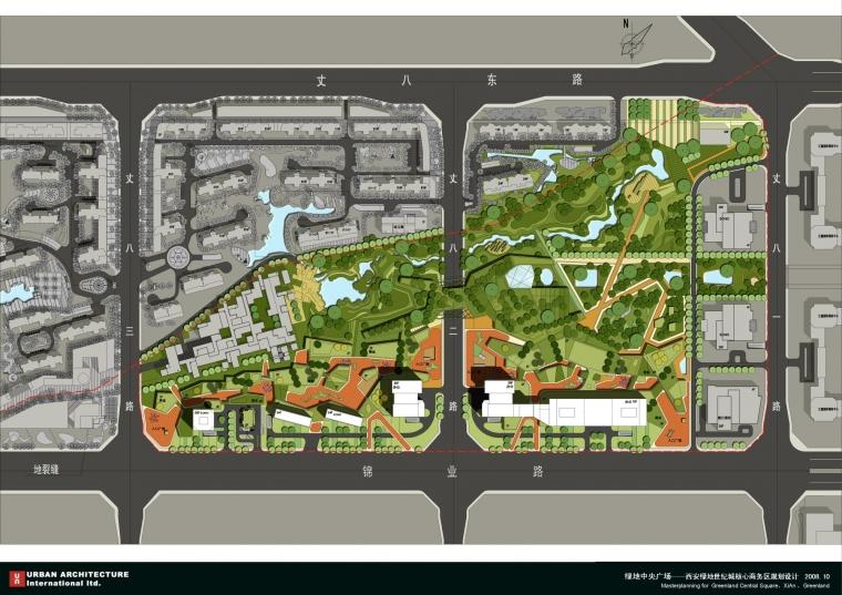西安绿地世纪城核心商务区规划设计_48