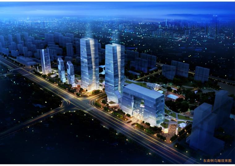 西安绿地世纪城核心商务区规划设计_4