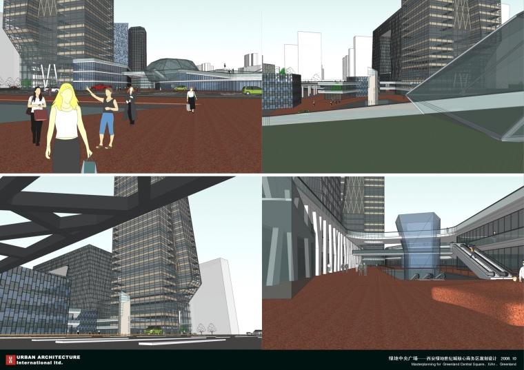 西安绿地世纪城核心商务区规划设计_10