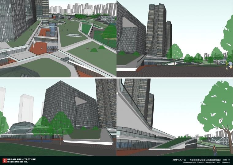 西安绿地世纪城核心商务区规划设计_43