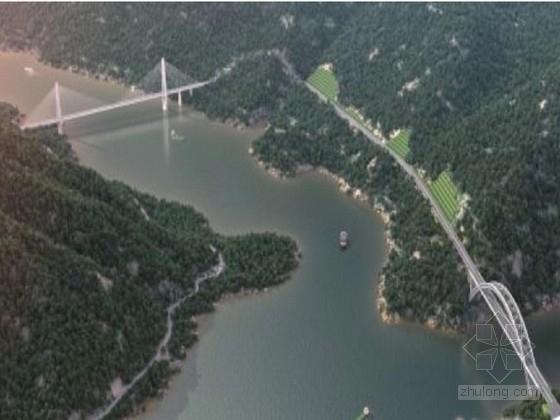[湖北]2014年设计长江公路大桥工程施工图2001页(斜拉桥拱桥 路隧涵)