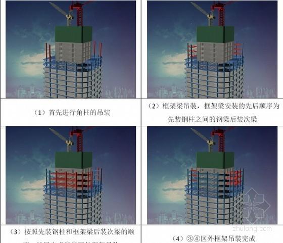 超高层混合结构甲级写字楼投标施工组织设计_2