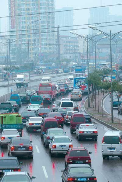 """北京:北城建70米宽新公路 """"三上三下""""道路已动工"""