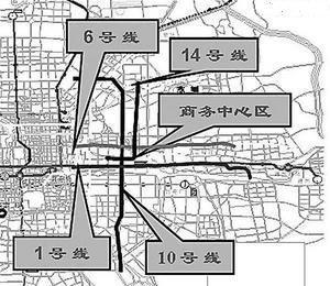 CBD交通规划八大解密 将增设四条地铁线路