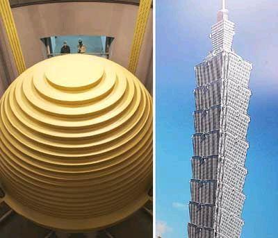 世界第一高楼台北101大楼耗时七年近日竣工