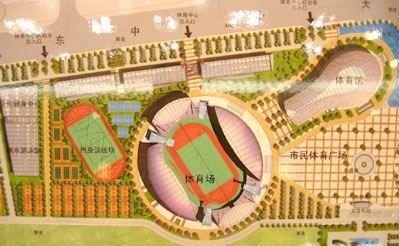 泉州新体育场馆拟10月奠基