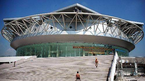 """上海""""亚洲最大网球馆""""即将建成"""