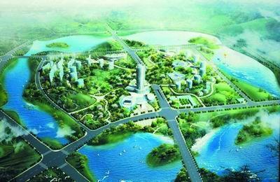 郑东大学城整体设计方案接受专家评审