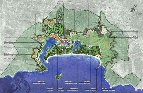 深圳市西冲旅游度假区概念规划设计方案公示