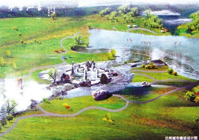 雁滩湿地公园规划设计方案亮相