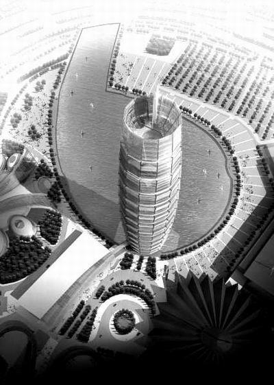 郑州开建中原第一高楼 高280米2009年建成