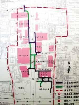 首都规划建筑方案展开幕 西单多处廊桥连通商场