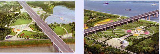 苏通长江公路大桥设计方案