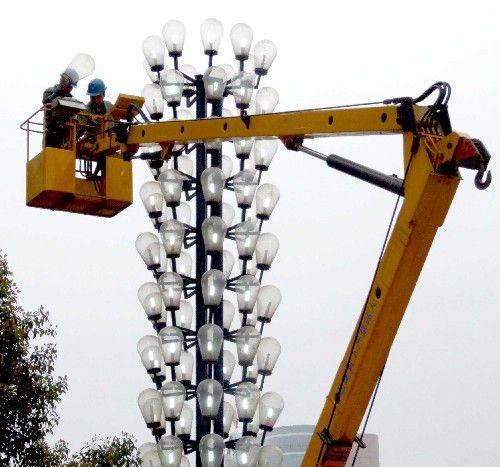 节能路灯扮靓生态旅游乡村