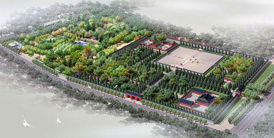 580米坛墙重现古祭坛格局 北京月坛公园完成改造