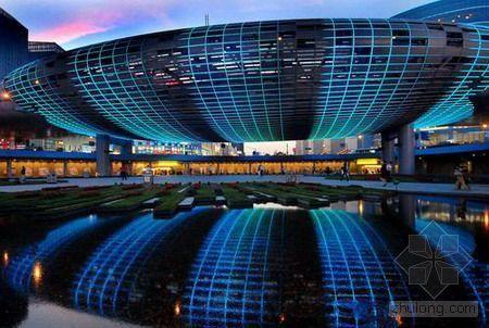 上海五角场彩蛋正式亮灯