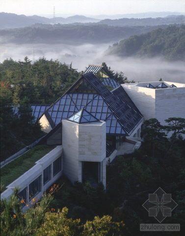 """贝聿铭设计--日本""""美秀美术馆""""(miho博物馆)(二)"""