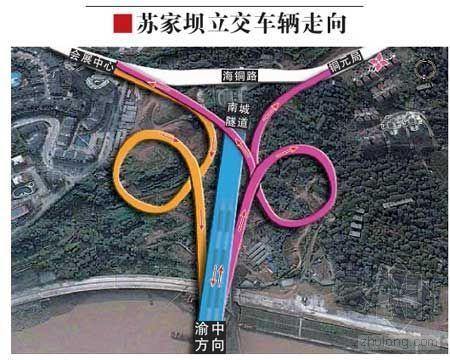 重庆菜园坝长江大桥今日通车 创三项世界第一