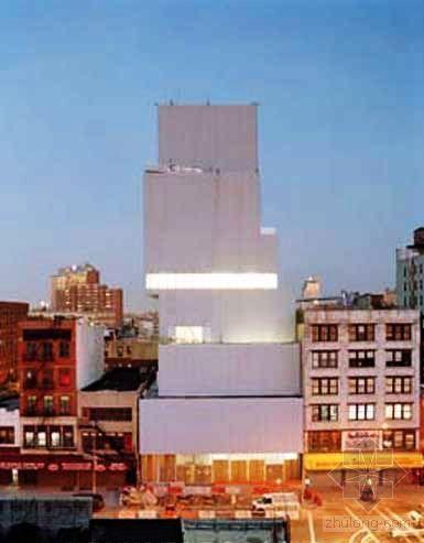 日本Sanaa事务所设计纽约新当代艺术博物馆