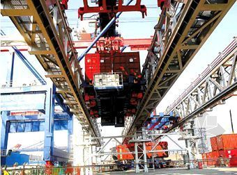 新型集装箱码头全自动装卸系统世界首创
