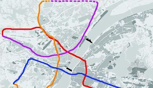 武汉民间人士绘地铁线路图称优越性远超北京_1