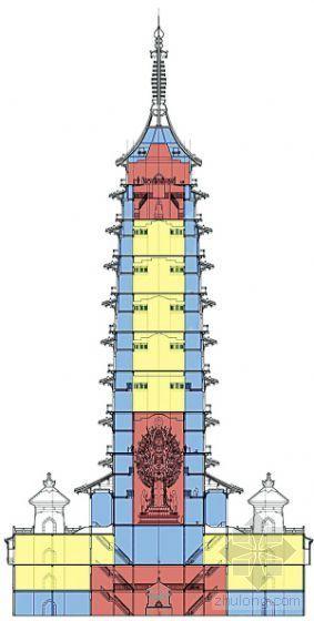 """金陵大报恩寺塔""""长高""""30米 专设地宫放舍利"""