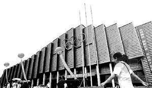 奥运摔跤馆昨天公开亮相 中国农大首次敞开大门
