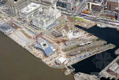 英国利物浦滨水三大复兴工程开始成形