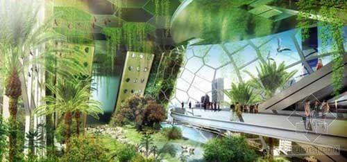 "Vincent Callebaut:纽约""蜻蜓""垂直农场概念设计"