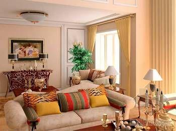 欧式乡村风格装修资料下载-美式乡村风格家居装修 体验非同一般的感觉