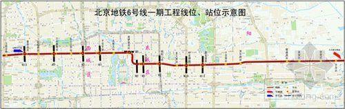 北京地铁6号线15号线一期规划公布