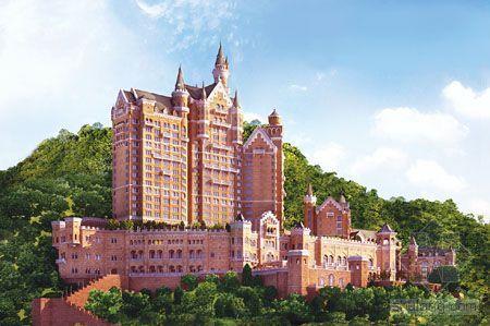 星海城堡将改建成顶级白金五星酒店 投资15亿