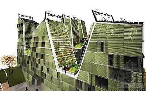 26种垂直农场设计方案:空中农场可自给自足