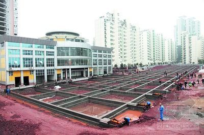 大楼平移照常上班 衡阳高层建筑整体搬移