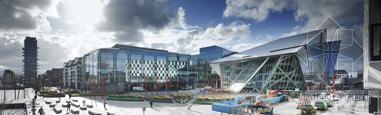 爱尔兰建造都柏林大运河广场剧院