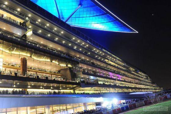 迪拜再挥重金 世界上最昂贵赛马场落成
