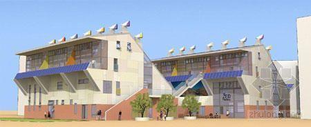 世博会零碳馆样板房 地板会呼吸窗户还会发电