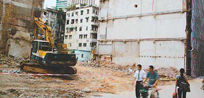 """广州文物因城市改造面临""""建设性破坏"""""""