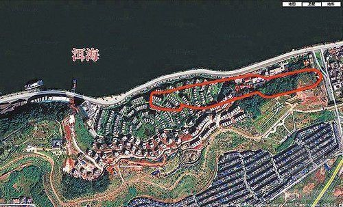 开发商在云南大理洱海填湖建豪华别墅群
