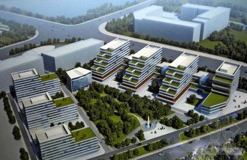 天津:投资估算45.9亿元 滨海天保商务园首栋大楼封顶