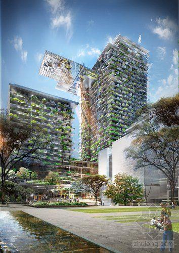 让·努维尔设计的澳大利亚悉尼中央花园