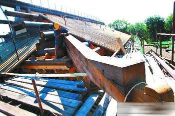 圆明园正觉寺建筑群主体结构封顶