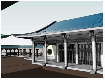 BIM再现中国古代建筑设计